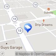 Map Morrow Gordon & Byrd LTD Newark, United States