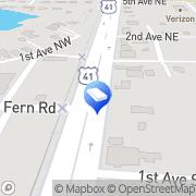 Map Tshirtify Custom Printing Lutz, United States