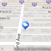 Map Two Men and a Truck Tampa, United States