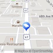Map Georges Tile Bradenton, United States