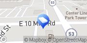Map Dumpster Rental Centers Warren, United States