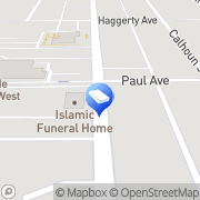 Map GATE TO HEAVEN FUNERAL HOME Dearborn, United States