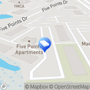 Map Five Points Auburn Hills, United States