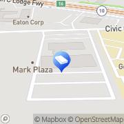 Map Delta-T Group Detroit, Inc. Southfield, United States