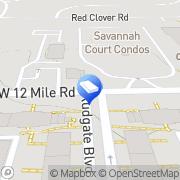 Map Witherspoon Locksmith Farmington Hills, United States