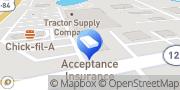 Map H&R Block Thomasville, United States