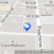 Map Danesc Rep 24/7 Atlanta, United States