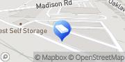 Map iStorage Self Storage Cincinnati, United States