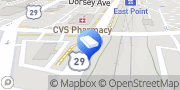 Map All Town Locksmith East Point, United States