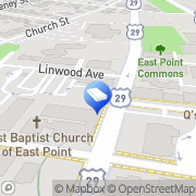 Map East Point Pro Locksmith East Point, United States