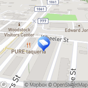 Map Woodstock Dumpster Rental Woodstock, United States