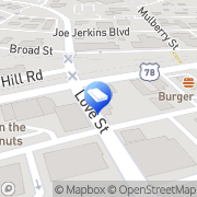 Map James Moving Services Austell, United States
