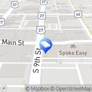Map Richmond Dumpster Rental Man Richmond, United States
