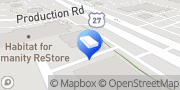 Map Bone Dry Roofing Fort Wayne, United States