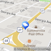 Map Cook Bobby Lee Attorney Summerville, United States