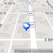 Map Bryant & Higby Panama City, United States