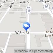 Map Ben Bollinger Panama City, United States