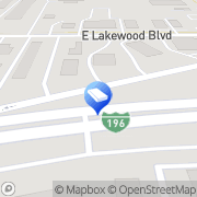 Map Budget Truck Rental Holland, United States