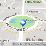 Map Kevin Green Attorney at Law Indianapolis, United States