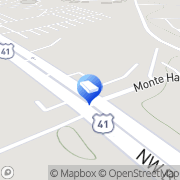 Map Two Men and a Truck Murfreesboro, United States