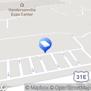 Map Two Men and a Truck Hendersonville, United States