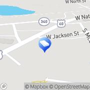 Map John & John Associates Inc Brazil, United States