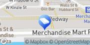 Map Digital Destination Chicago, United States