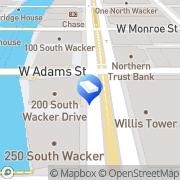 Map Zima Media Chicago, United States