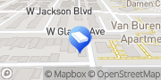 Map AAA National Pest Control Chicago, United States