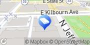 Map Kerkman & Dunn Milwaukee, United States