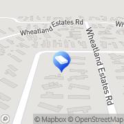 Map Wheatland Estates Burlington, United States