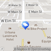 Map Lincoln Square Shopping Ctr Urbana, United States