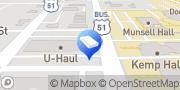 Map U-Haul Moving & Storage at Main St Bloomington, United States