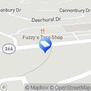 Map Yorkshire Cleaners Inc Saint Louis, United States
