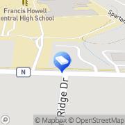 Map Amco Ranger Termite & Pest Solutions Cottleville, United States