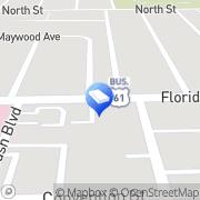 Map The Bluest Ink Notary Public Baton Rouge, United States