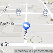 Map Two Men And A Truck Branson, United States