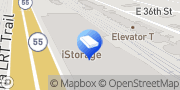 Map iStorage Self Storage Minneapolis, United States