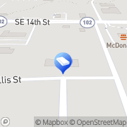 Map Two Men and a Truck Bentonville, United States