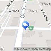 Map Buchanan, Williams & O` Brien, P.C. Joplin, United States