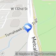 Map Ciena Communications Inc Overland Park, United States