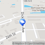 Map AAA Tree Removal & Lawn Service Dickinson, United States