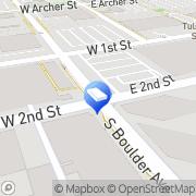 Map  Tulsa FATHERS RIGHTS Lawyer Tulsa, United States