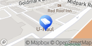 Map U-Haul Moving & Storage at Central & Midpark Dallas, United States