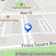 Map The Plaza at Frisco Square Frisco, United States
