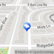 Map Dan Rodriguez Tile Co. Carrollton, United States
