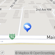 Map Two Men and a Truck West Fargo, United States