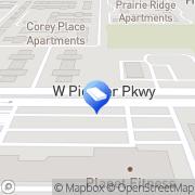 Map Law Office of Dapo Adebayo Grand Prairie, United States