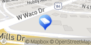 Map U-Haul Moving & Storage at Waco Dr Waco, United States