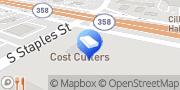 Map Red Alarm Corpus Christi, United States